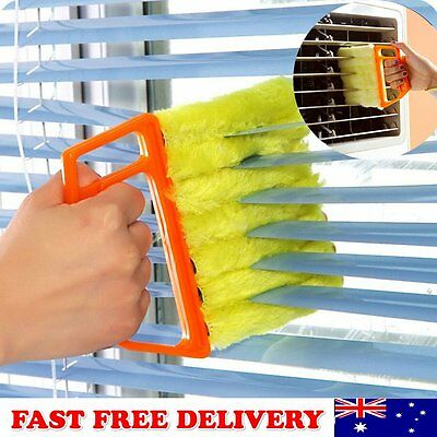 Blinds Cleaner Brush Vertical Window Venetian Blind Hand Held Window Duster B9