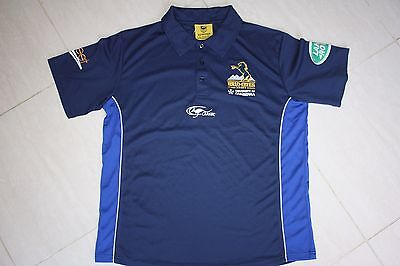 ACT Brumbies Mens Polo Shirt, M with defects