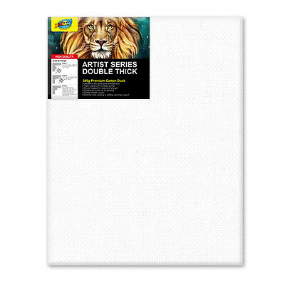 "Artoys Studio Blank Canvas Double Thick 16x20"" (40.6x50.8cm) 380gsm 35mm Thick"