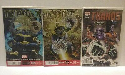 Thanos Quest - One Shot + Thanos Rising  2 & Thanos 12- Free Shipping