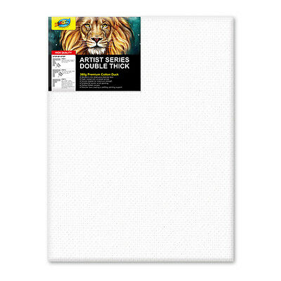 "Artoys Studio Blank Canvas Double Thick 12x16"" (30.5x40.6cm) 380gsm 35mm Thick"