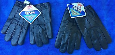 New Hipora Leather Duty Shooting/hunting Gloves With Hipora Barriers 1Sm/1Med
