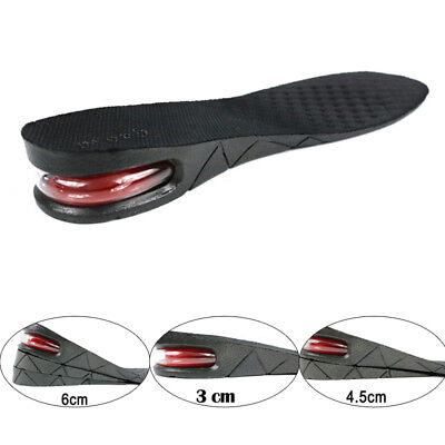 Unisex Increase Insole 1 to 3 Layer Height Heel Lift Shoe Air Cushion Pad Taller