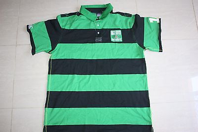 Canterbury Rugby World Cup Stripe Polo Shirt, 2XL with defects