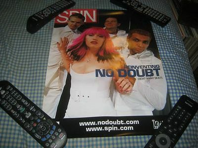NO DOUBT-(reinventing)-1 POSTER-12X16-NMINT-RARE