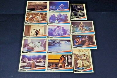 1976 Donruss Space 1999 Lot Of 14 No Doubles TV Show Science Fiction Collectible