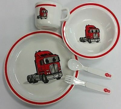 Genuine Kenny 5 Piece Melamine Dinner Set (C-Ken789)