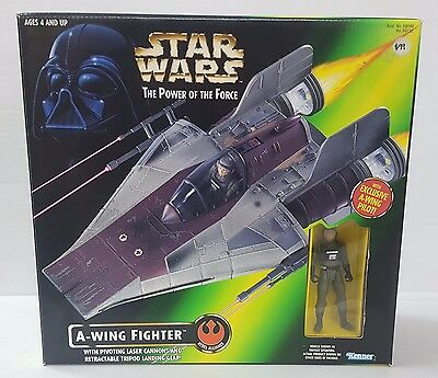 Star Wars The Power of the Force A-Wing Fighter Vehicle