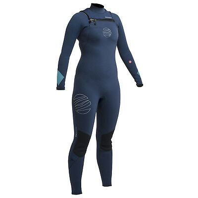 Gul Womens Response Fx Cz 3 / 2Mm Bs Wetsuit 2017 - Navy / Turquoise