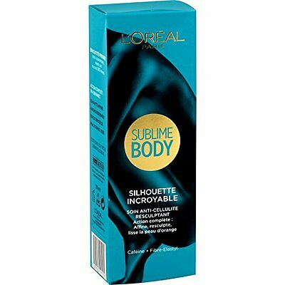 L Oreal Sublime Body Silhouette Incroyable Soin Anti Cellulite Lisse Resculptant