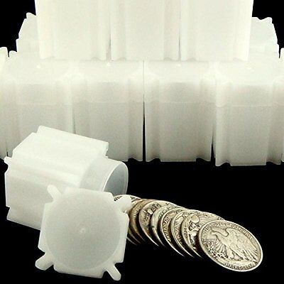 Square Half Dollar Coin Tubes 10 pack