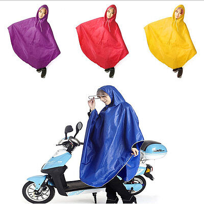 Waterproof Motorcycle Riding Raincoat Fashion Long Poncho Raincoat Rainwear AU
