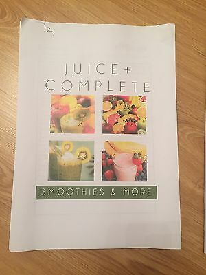 Juice Plus Complete Diet Plan, Exercise & Recipe.. How It Works & Detox Plan
