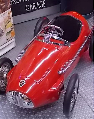 Very Rare Pedal Car FERRARI 1952-1957 F2 Complete Collection with Paper Manuals!