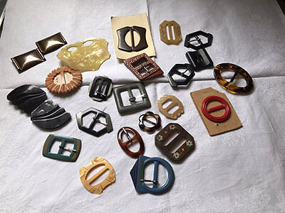 Vintage/antique Buckles,lot Of 22.