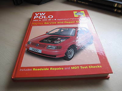 Haynes VW Polo, Petrol and Diesel (1994 - 1999) Workshop Manual    NEW