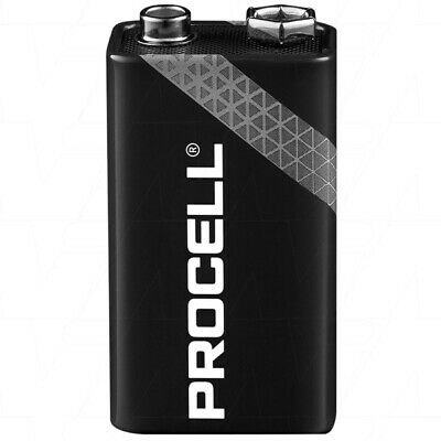12 Duracell Procell Industrial 9V Batteries PC1604 professional Alkaline battery
