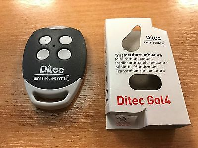 DITEC GOL4 Genuine Remote Control original BIXLP2 Replacement UK Official Seller