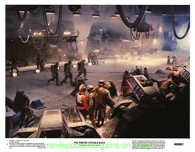 THE EMPIRE STRIKES BACK LOBBY CARD size MOVIE POSTER Complete Set Of 8 STAR WARS