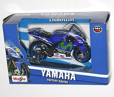 Maisto - YAMAHA Factory Racing #46 Valentino ROSSI (GP 2016) Model Scale 1:18