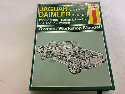 Jaguar Daimler XJ12 & XJS Haynes Owners Workshop Manual