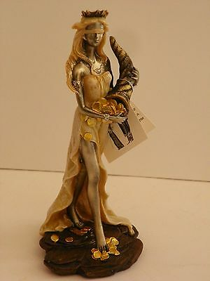 Fortune Fate Goddess Greek Mythology 7'' Figurine  Statue Collectible