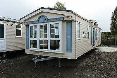 WILLERBY VOGUE 38x12 2bed Double glazed Central heated static caravan off site
