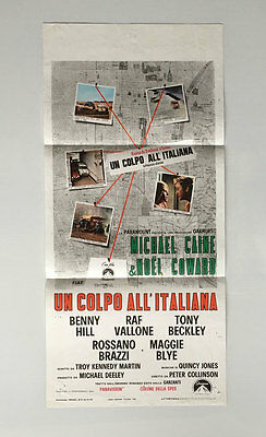 The Italian Job, Italian Locandina, Film/ Movie poster, 1969