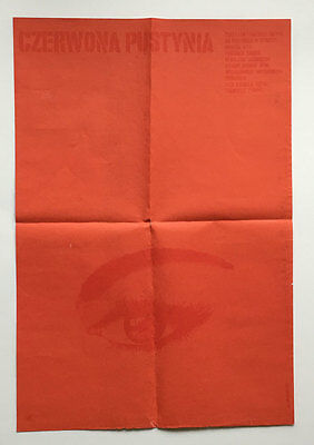 Red Desert, Polish A1, Film/ Movie poster, 1965