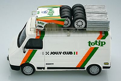 Decal's 1:43 ARE619 FIAT 242 ASSISTENZA JOLLY CLUB TOTIP