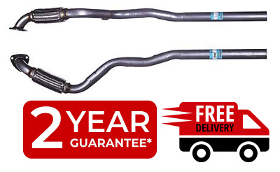 Vauxhall Zafira 1.6 1998 to 2005 Exhaust Front Flexi  Pipe Centre Link Pipe