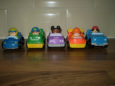 LITTLE PEOPLE WHEELIES X 5 ASSORTED lot 2