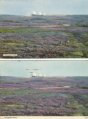 Postcard showing  - Fylingdales Moor - 1977/unused - (AFS01)
