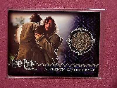 Harry Potter-POA-Update-Movie-AUTHENTIC-Costume Card-David Thewlis-Remus Lupin