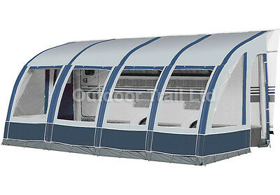 Dorema Magnum Air Weathertex 520 Inflatable Caravan Porch Awning Blue (2017)