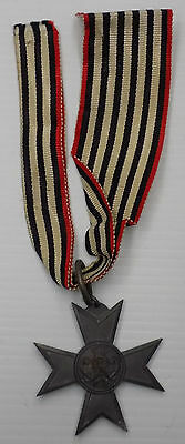 WW1 Original German Merit Cross for War Aid