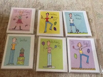 wholesale joblot high quality birthday greetings cards x 36 - fabulous!