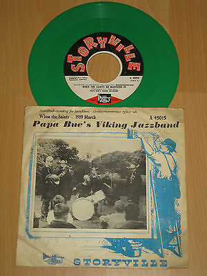 "7"" Papa Bue's Viking Jazzband - When The Saints Go Marching In - Grünes Vinyl"