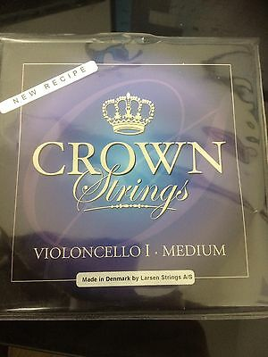 Larsen Crown  Violin Cello 1 Full Set Of Strings - Medium-cs41