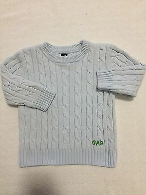 Toddler Cable Knit Sweater Size 12-18 Months.   Baby GAP Label sc