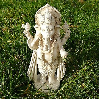 Ganesh Statue Hindu God Elephant Indian Figurine Ornament Fair Trade India