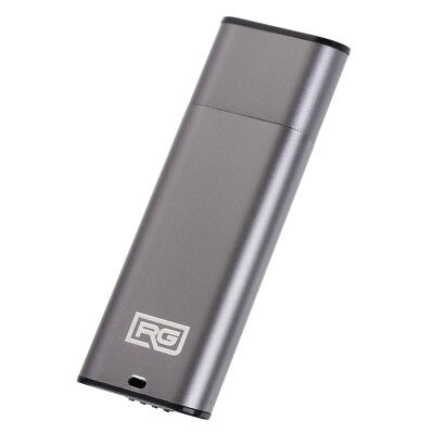 RecorderGear FD15 USB Drive Voice Activation Small Spy Recorder (Gray Option)