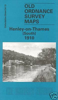 Old Ordnance Survey Map Henley On Thames (South) 1910