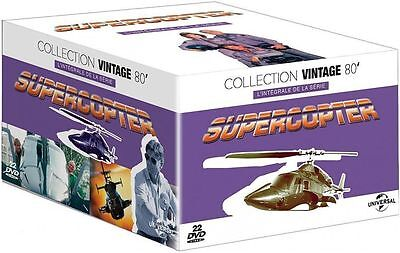 "Dvd ""supercopter - L'integrale""  22 Dvd    Neuf Sous Blister"