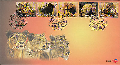 South Africa 2007 Big Five Fdc