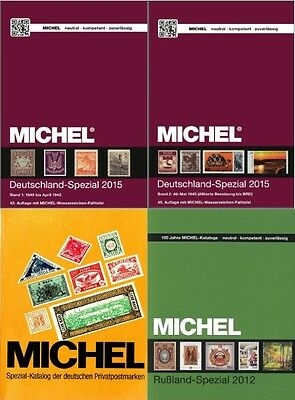 MICHEL SPECIAL STAMPS 2015 CATALOG SET eBOOKS in DVD - PDF