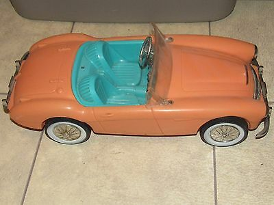 Vintage Irwin 1962 Barbie Austin Healey Roadster Convetible - Free Us Shipping!