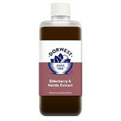 Dorwest Elderberry & Nettle Extract, 500ml. Premium Service, Fast Dispatch