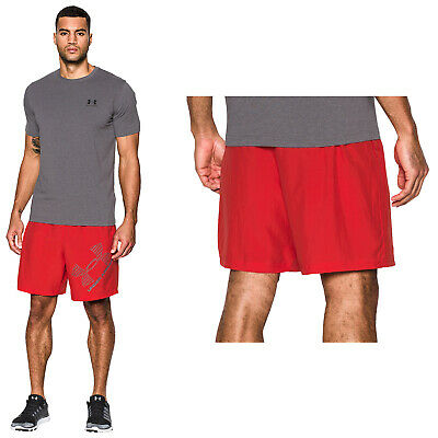 "Under Armour Mens 8"" Woven Graphic Shorts -New Ua Sports Training Gym Pants 2017"