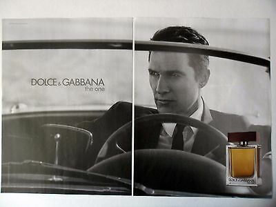PUBLICITE-ADVERTISING :  DOLCE & GABBANA The One [2pages] 2014 Parfum